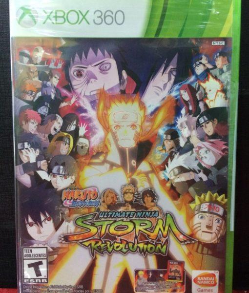 360 Naruto Ninja Storm Revolution game