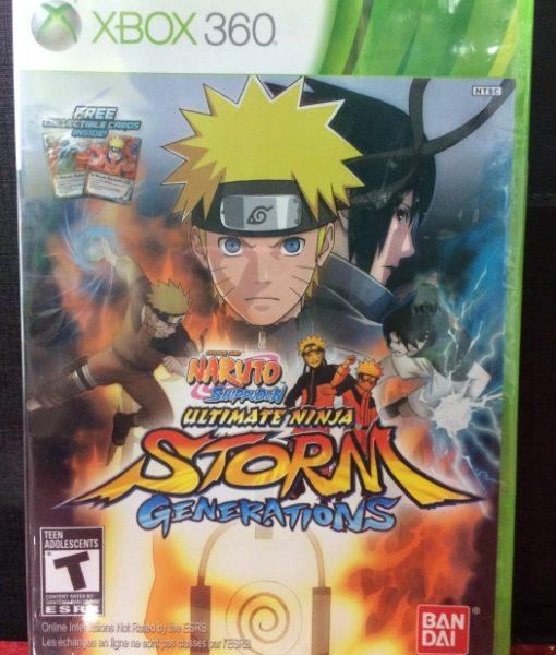 360 Naruto Storm Generations game