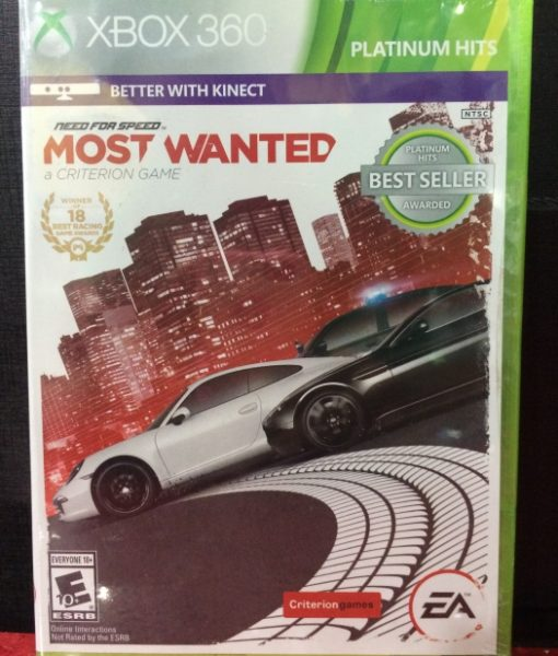 360 Need for Speed Most Wanted 2 game