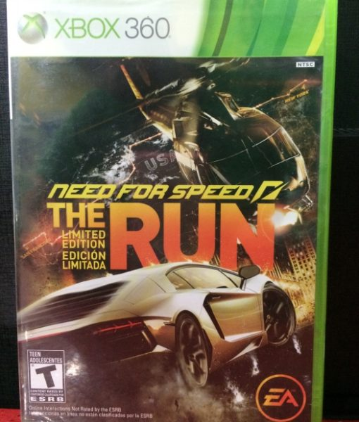 360 Need for Speed The Run game