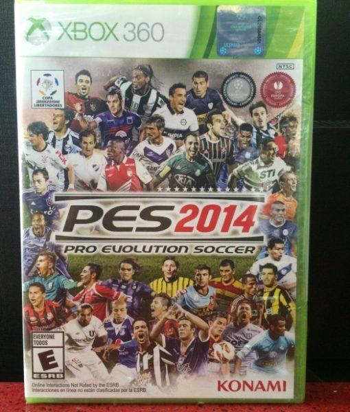 360 PES 2014 game
