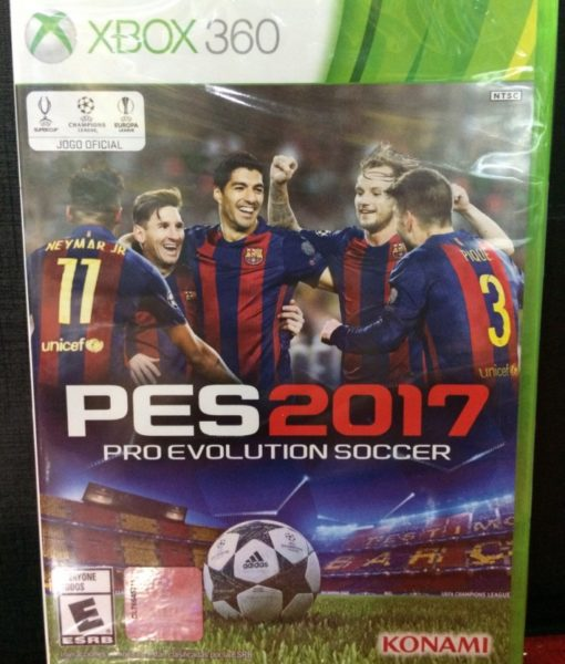 360 PES 2017 game