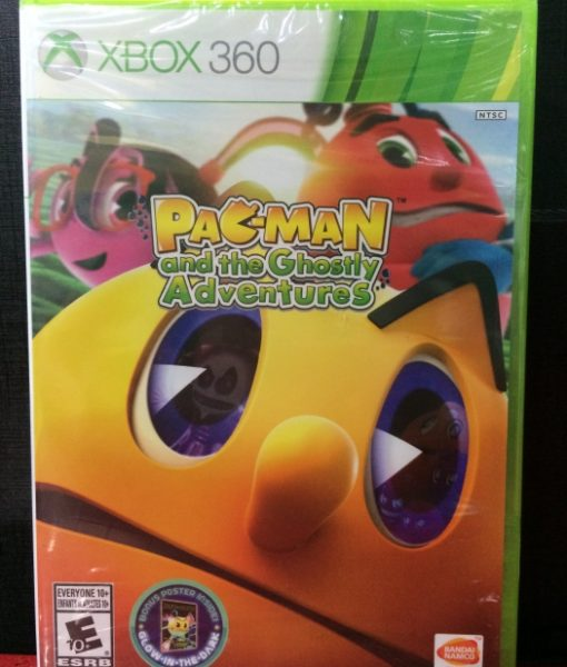 360 Pacman Ghostly Adventures game