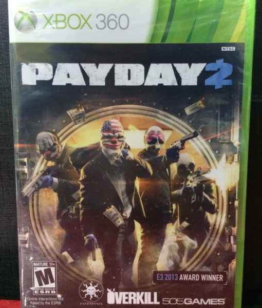 360 PayDay 2 game