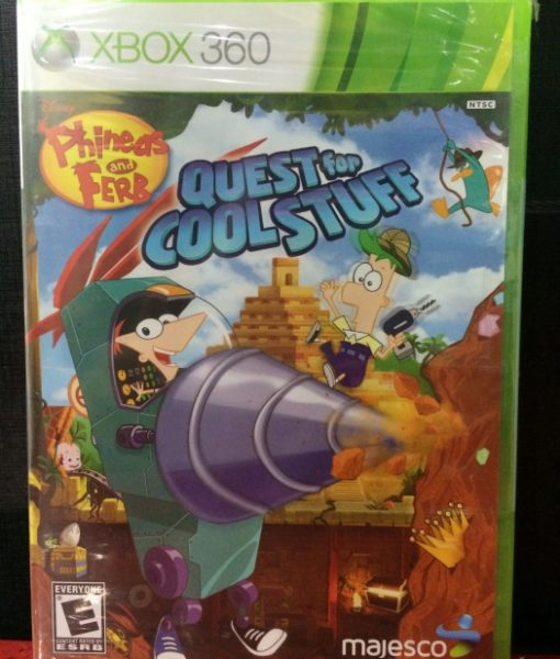 360 Phineas and Ferb Quest for Cool Stuff game