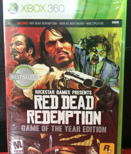 360 Red Dead Redemption Game Year game