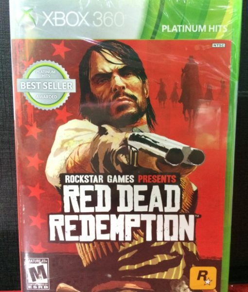 360 Red Dead Redemption game
