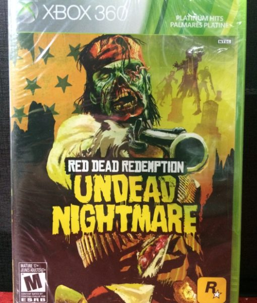 360 Red Dead Undead Nightmare game