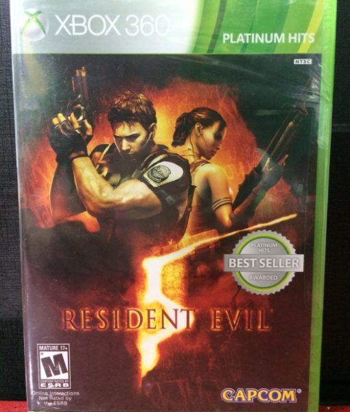 360 Resident Evil 5 game