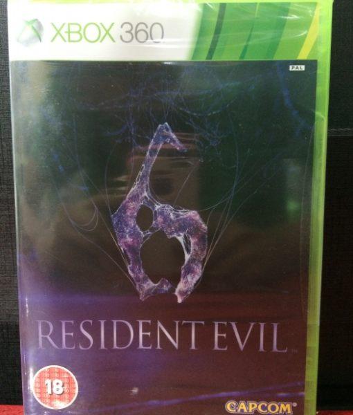 360 Resident Evil 6 game