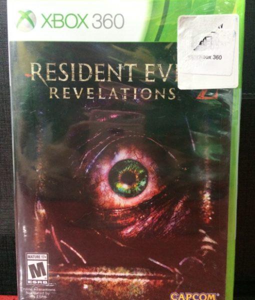 360 Resident Evil Revelations 2 game