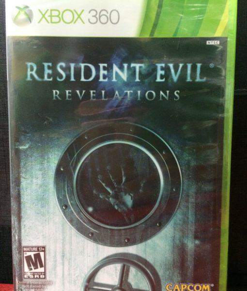 360 Resident Evil Revelations game