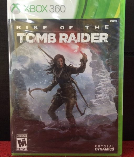 360 Rise of the Tomb Raider game