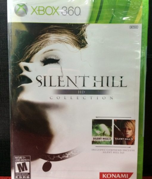 360 Silent Hill HD Collection game