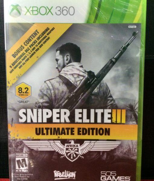 360 Sniper Elite III game