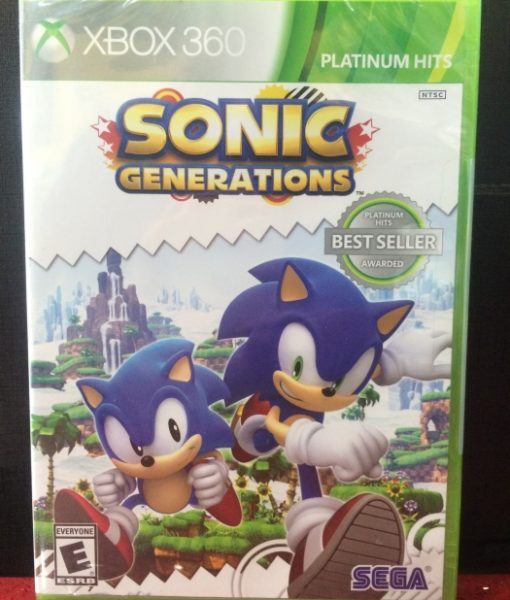 360 Sonic Generations game