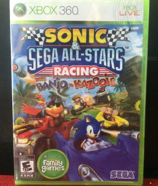 360 Sonic Sega Racing Banjo game