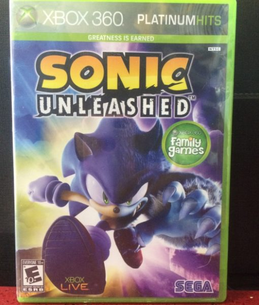360 Sonic Unleashed game