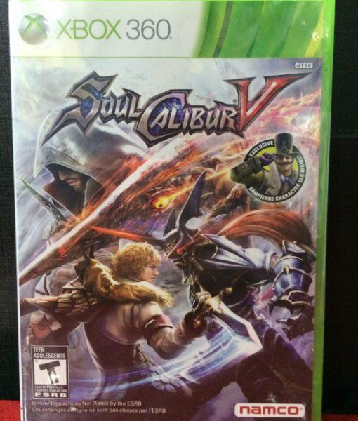 360 SoulCalibur V game