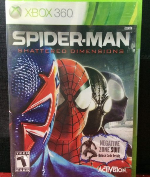 360 Spiderman Shattered Dimensions game