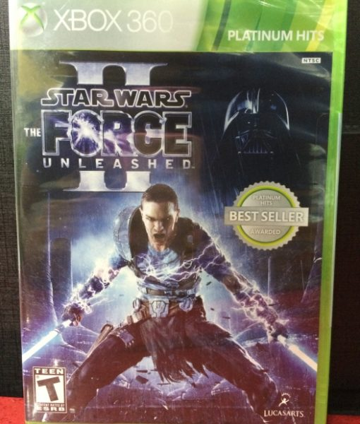 360 Star Wars Force Unleashed II game