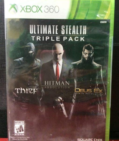 360 Stealth Pack Thief Hitman Deus game