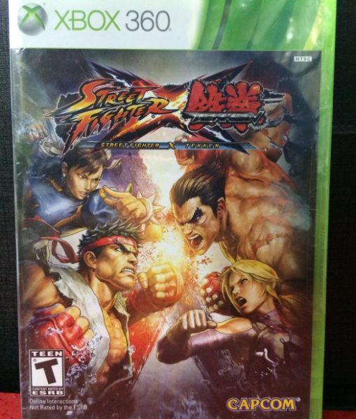 360 Street Fighter X Tekken game