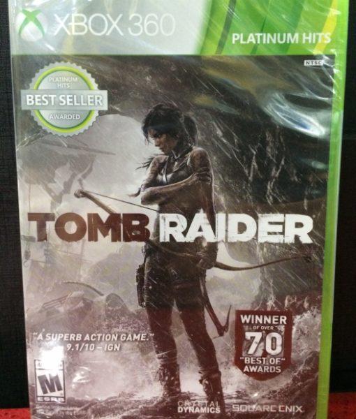 360 Tomb Raider standar game
