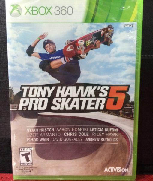 360 Tony Hawks Pro Skater 5 game