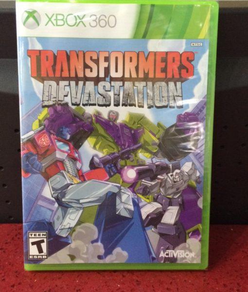 360 Transformers Devastation game