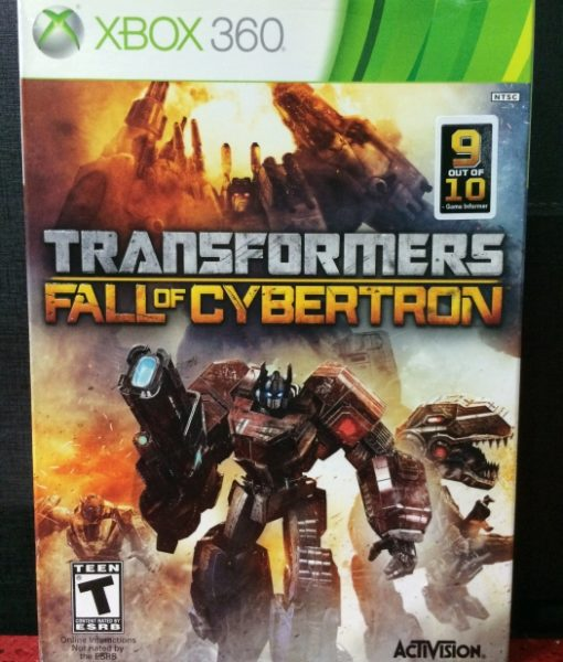 360 Transformers Fall of Cybertron game