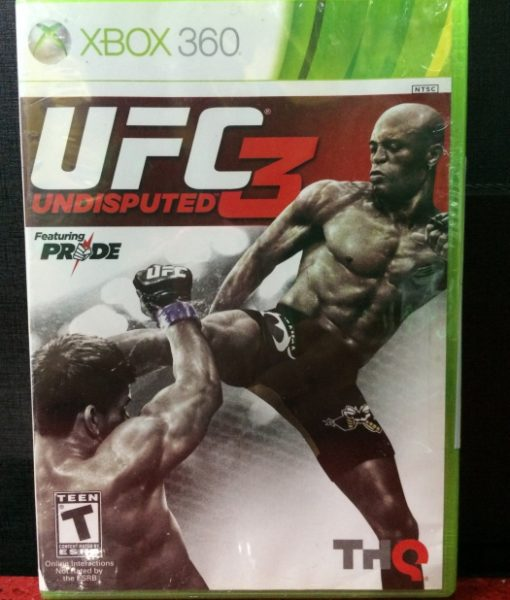 360 UFC Undisputed 3 game