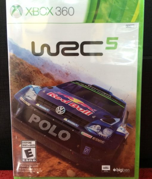 360 WRC 5 Rally game