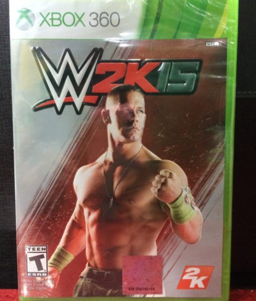 360 WWE 2K15 game