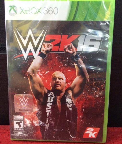 360 WWE 2K16 game