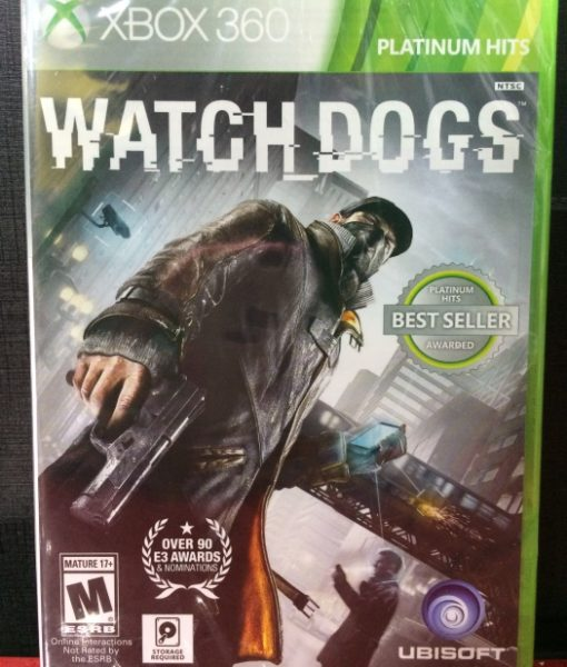 360 WatchDogs game