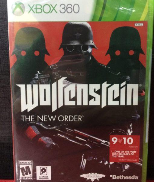 360 Wolfenstein The New Order game