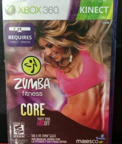 360 Zumba Fitness Core Kinect game