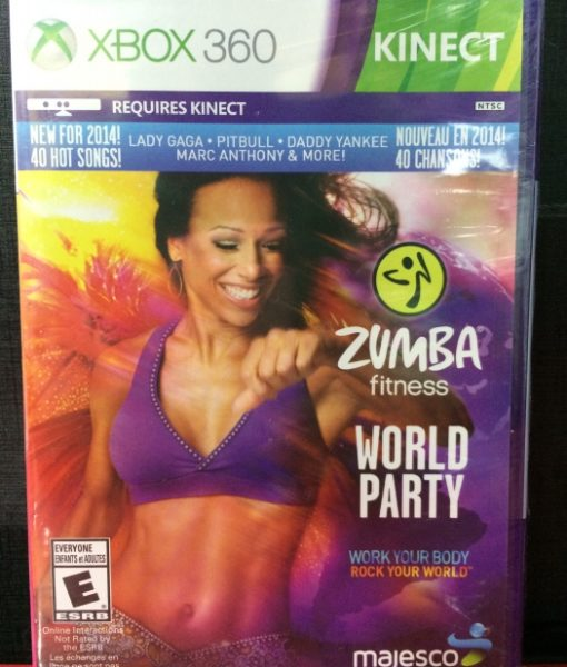 360 Zumba World Party Kinect game