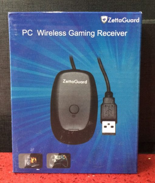 360 PC Wireless Controller Receiver ZettaGuar