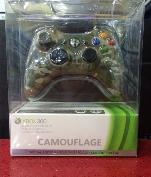 360 Wireless Camouflage Controller Microsoft