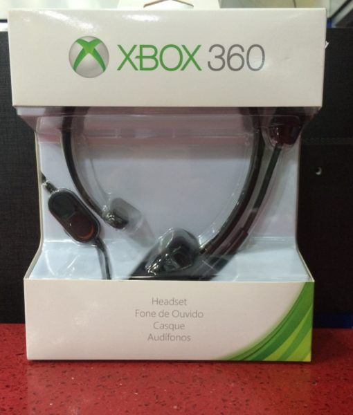 360 XBOX Headset Negro Microsoft