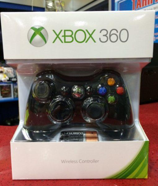 360 XBOX Wireless Controller Black Microsoft