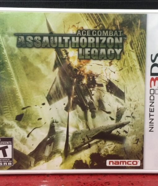 3DS Ace Combat Horizon game