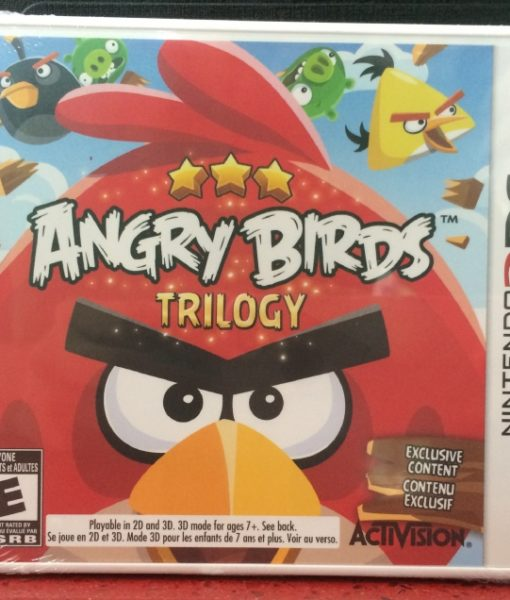 3DS Angry Birds Trilogy game