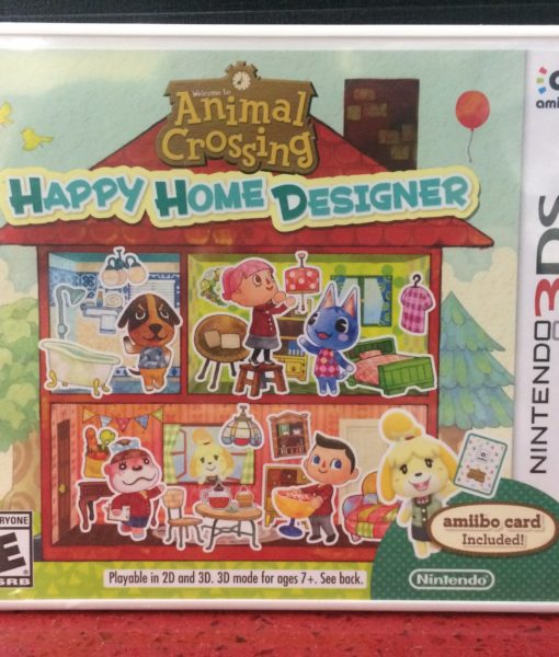 3DS Animal Crossing Happy Home Designer game