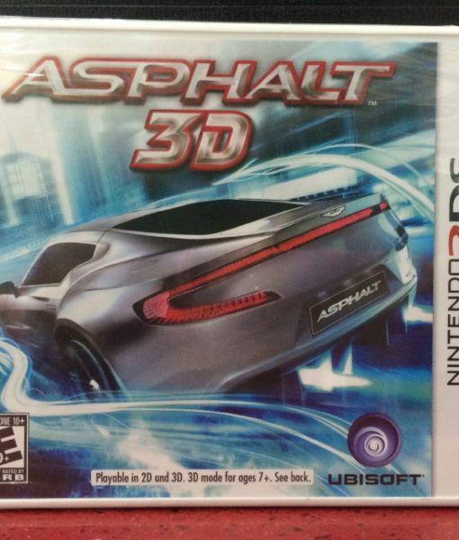 3DS Asphalt 3D game