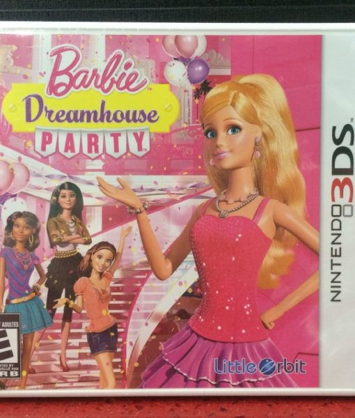 3DS Barbie DreamHouse Party game