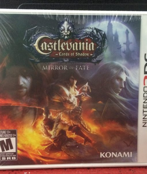3DS Castlevania Mirror of Fate game