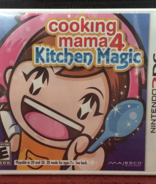 3DS Cooking Mama 4 Kitchen Magic game